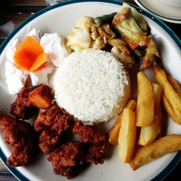 Fried Chicken Cafè Style