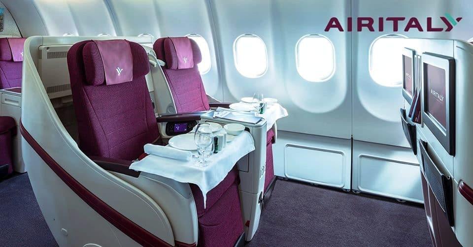 Business-A330-200 Air Italy, volo diretto Milano-Toronto
