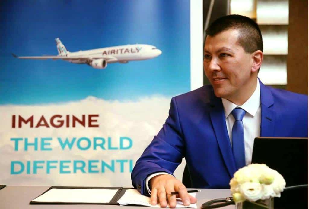 Rossen-Dimitrov-Air-Italy-Chief-Operating-Officer Air Italy, nuovo collegamento da Cagliari