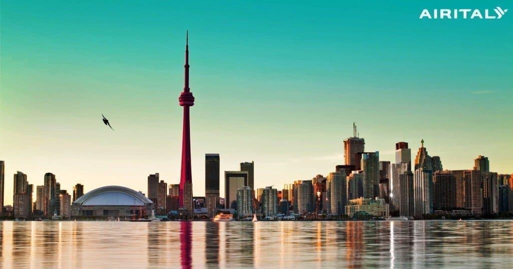 Toronto_1200x630_Air-Italy-social Air Italy, volo diretto Milano-Toronto