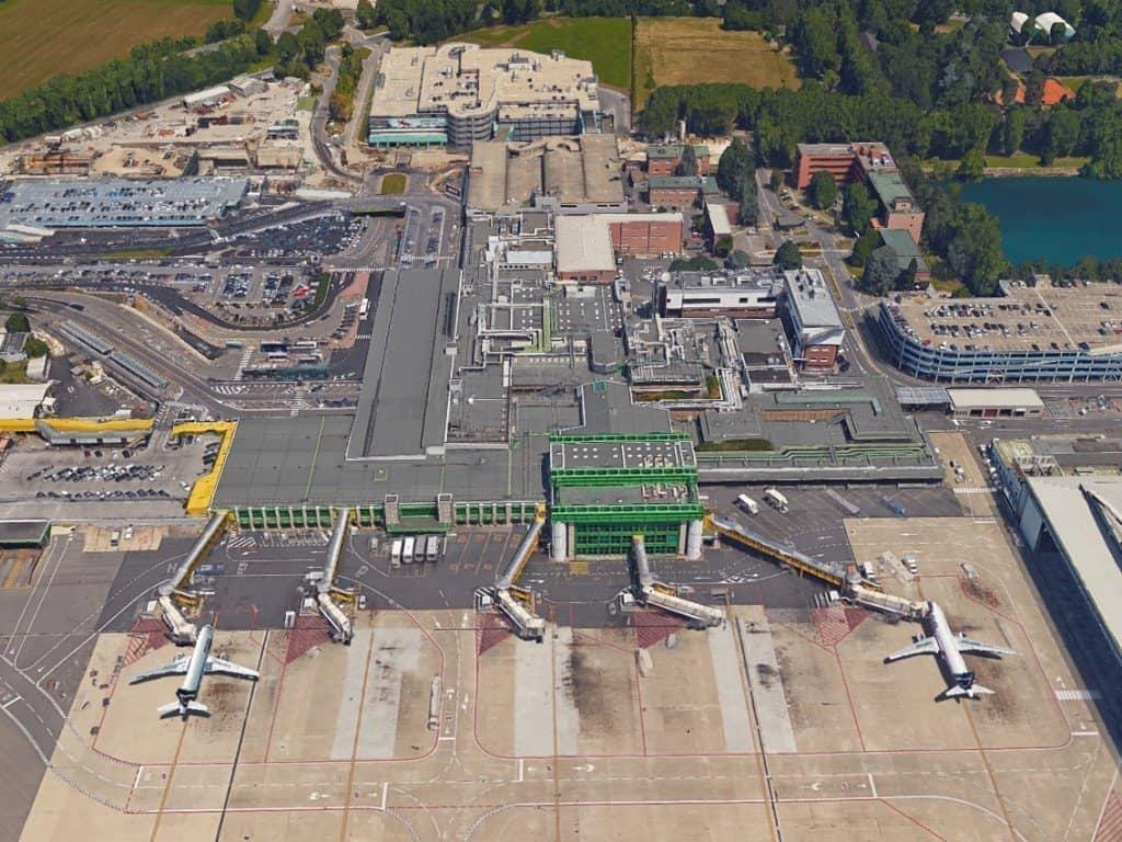 Aeroporto di Linate vista aerea