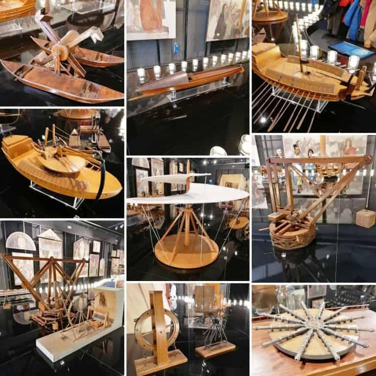 Modelli di Leonardo Da Vinci