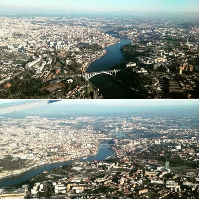 Viste aeree di Porto