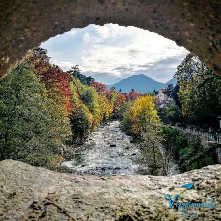 Scorcio sul fiume Passirio (Merano)