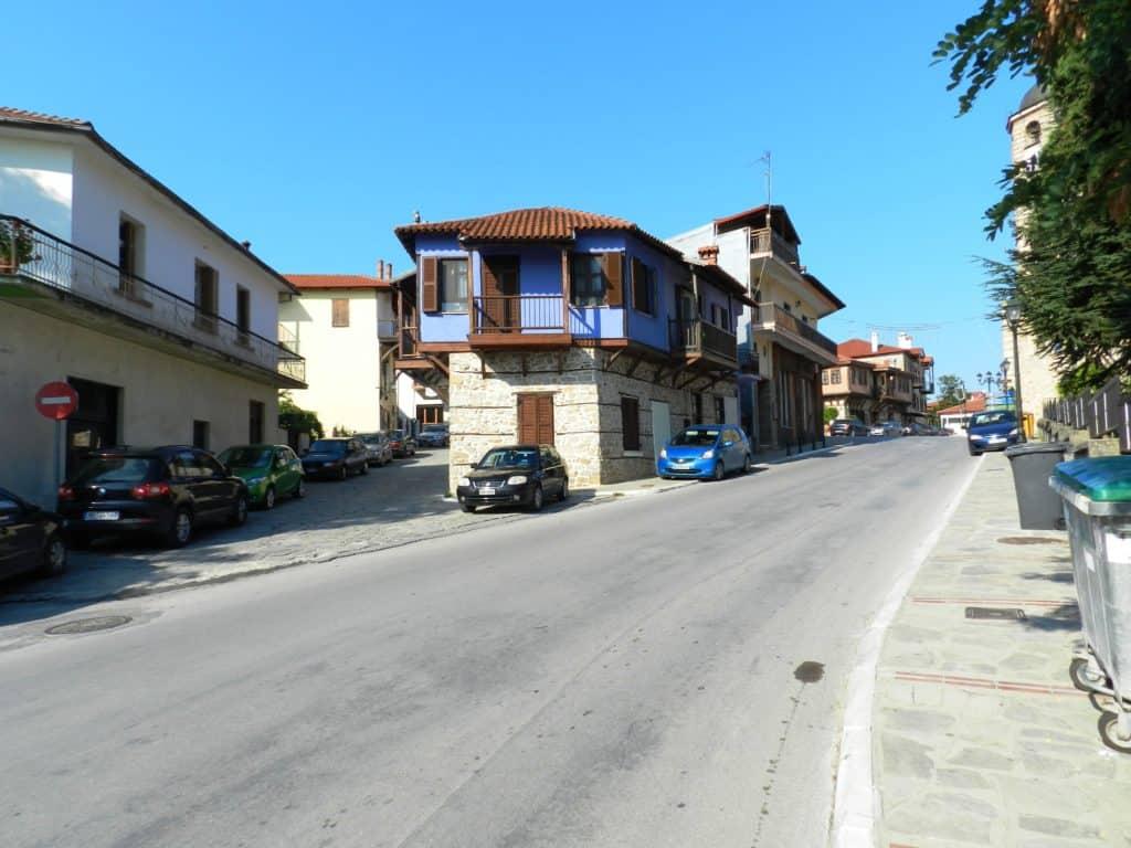 Esempio di casa tradizionale ad Arnaia