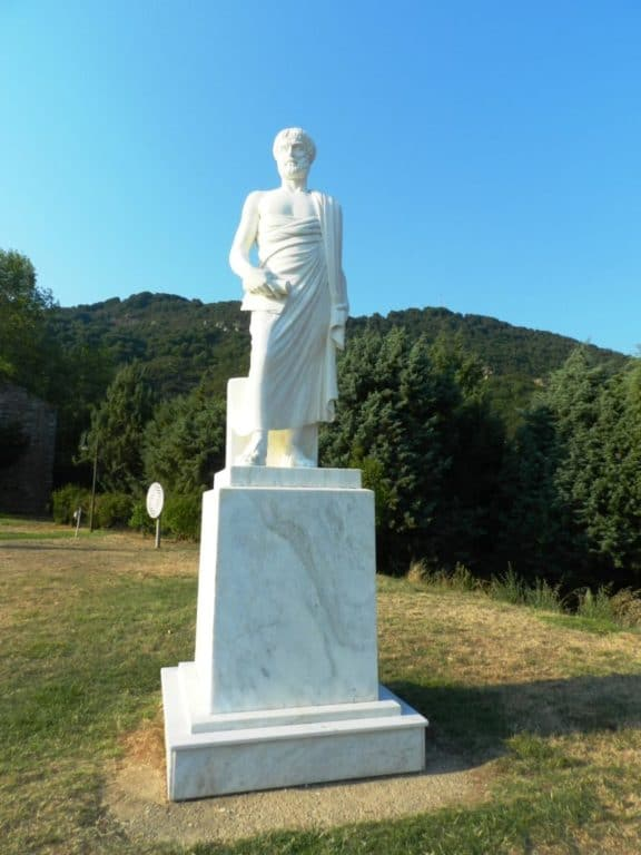 Statua di Aristotele