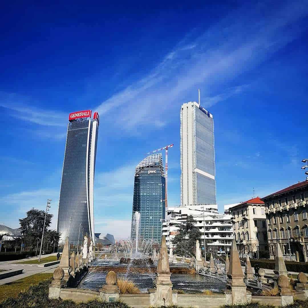 Milano, Tre Torri